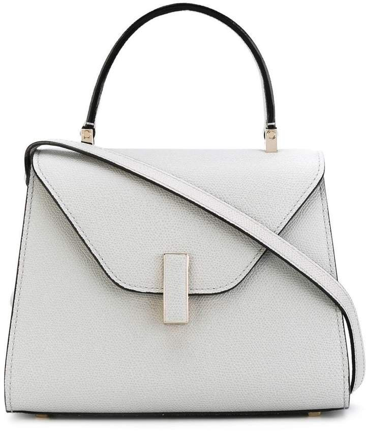 foldover structured tote