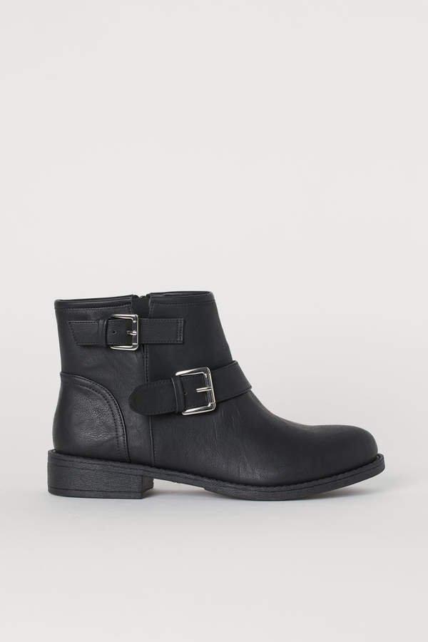 Biker Boots - Black