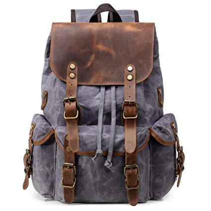 Kemy's Waxed Canvas Backpack