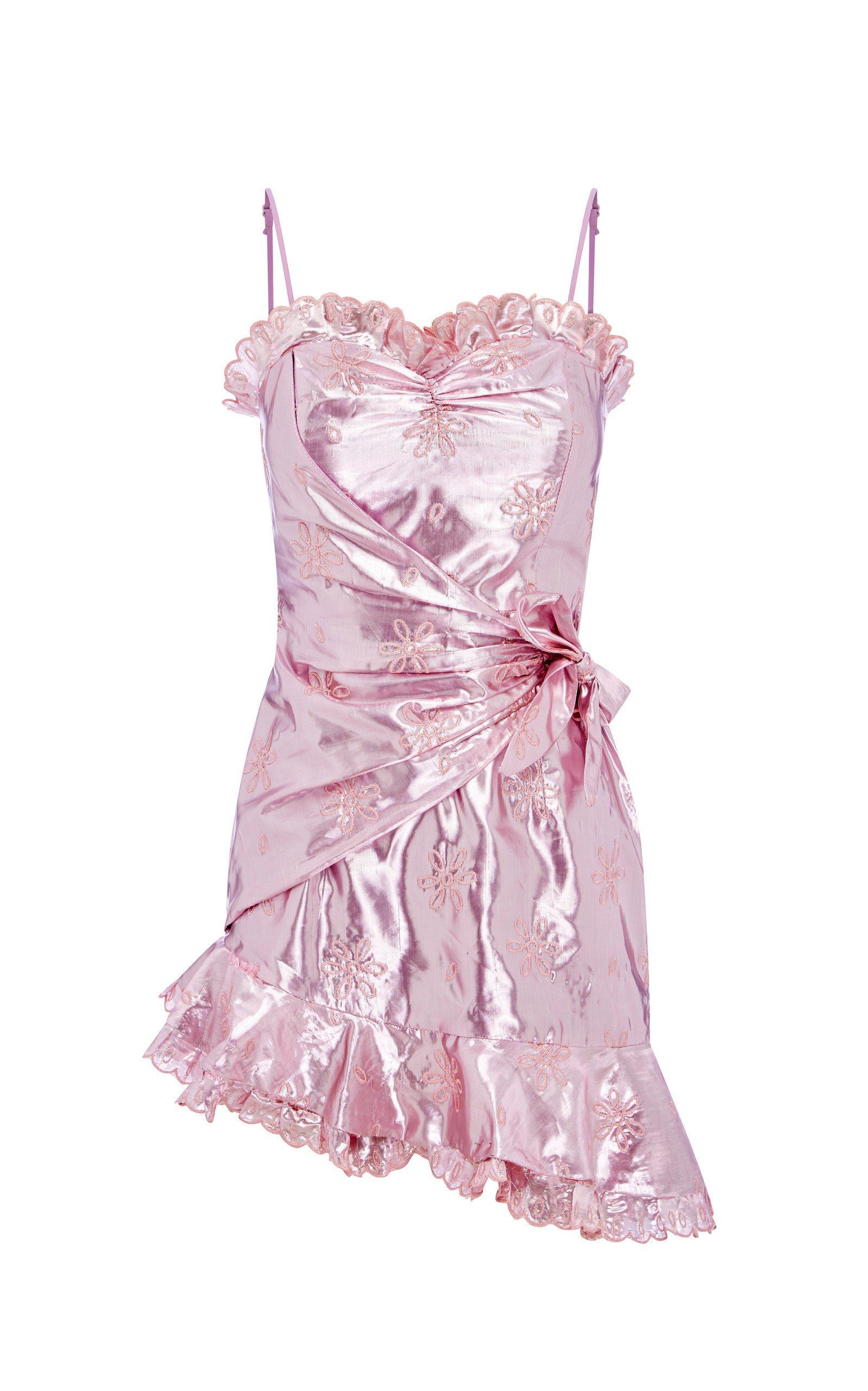 Alice McCall Electric Galaxy Mini Wrap Dress