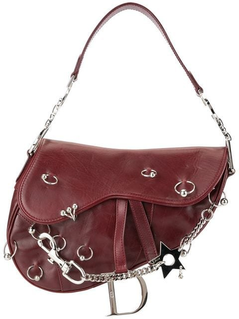 Christian Dior Pre-Owned Saddle Piercing Hand Bag - Farfetch