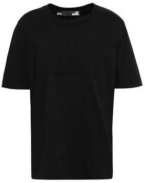 Embossed Cotton-jersey T-shirt