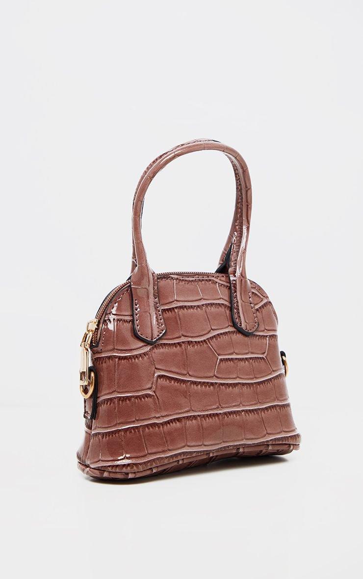 Rose Croc Mini Grab Bag | Accessories | PrettyLittleThing USA