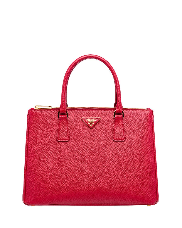 Prada Galleria Medium Saffiano Tote Bag | Neiman Marcus