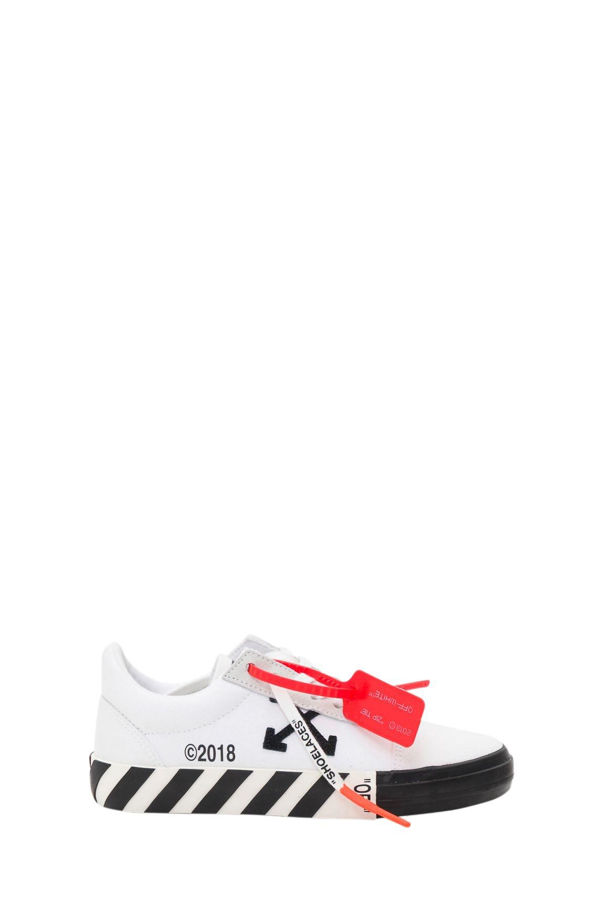 Off-White Vulcanised Sneakers