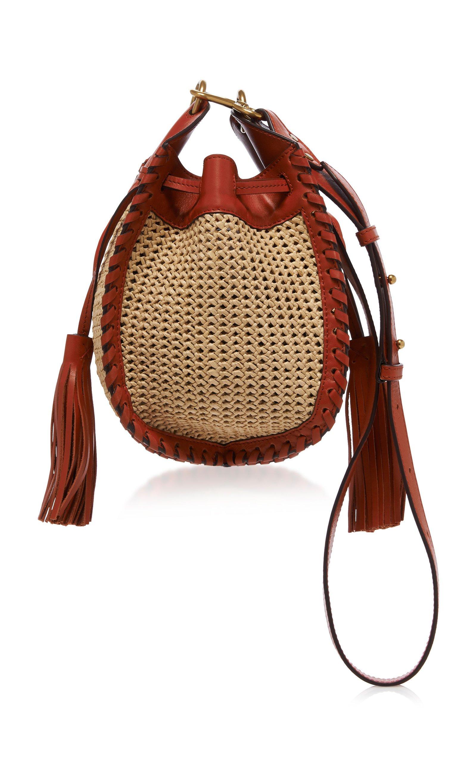Isabel Marant Radja Leather Tassel Shoulder Bag