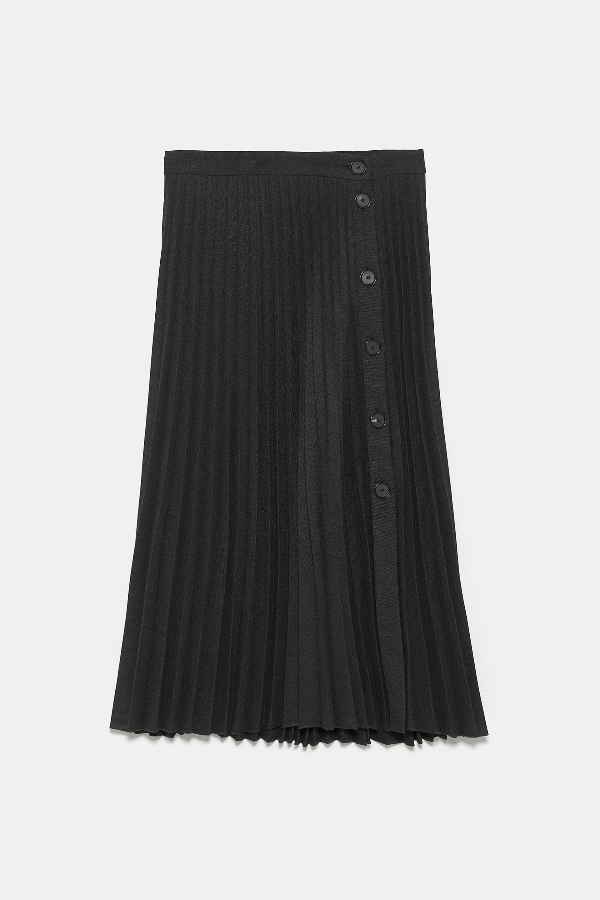 PLEATED BUTTONED SKIRT - View All-SKIRTS-WOMAN | ZARA United States