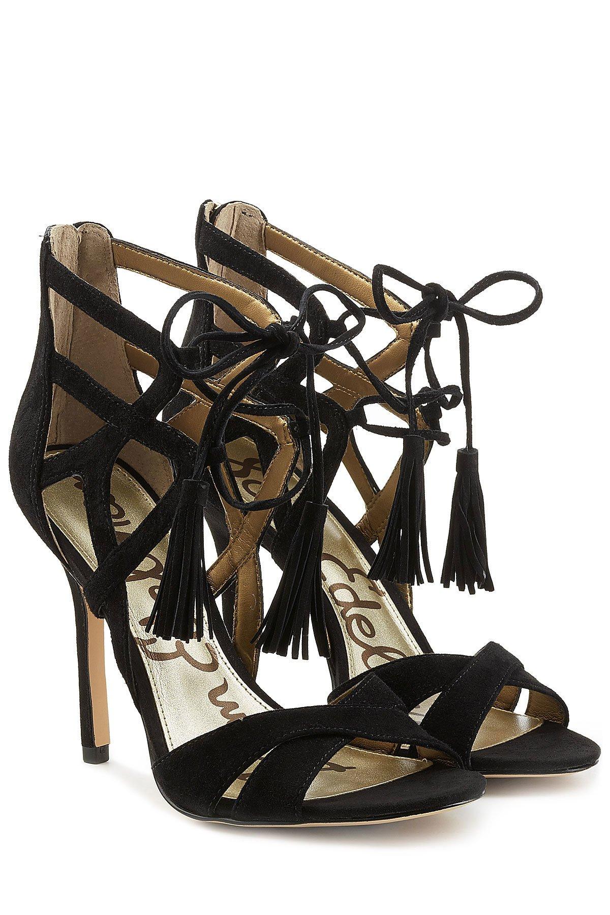 Azela Suede Stiletto Sandals Gr. EU 40