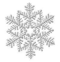 Silver snowflake clipart - Clip Art Library