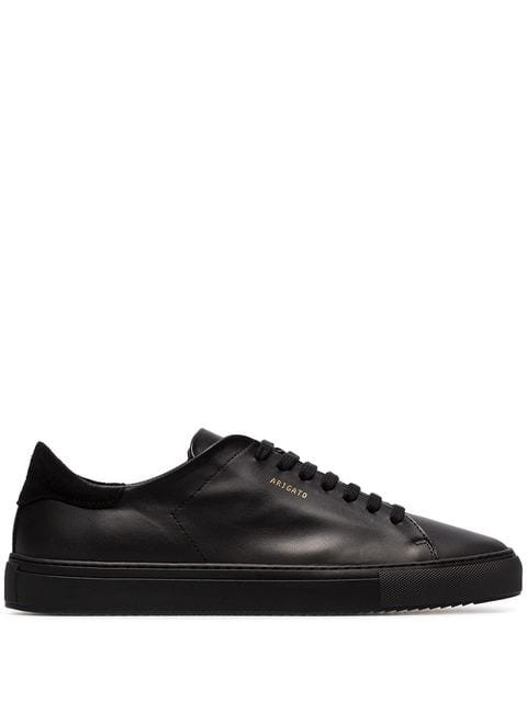Axel Arigato Black Clean 90 low-top leather sneakers
