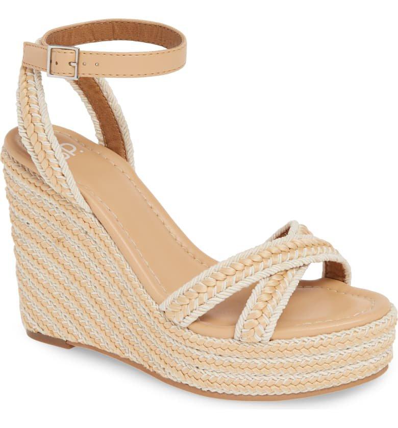 BP. Gabby Woven Wedge Sandal (Women) | Nordstrom