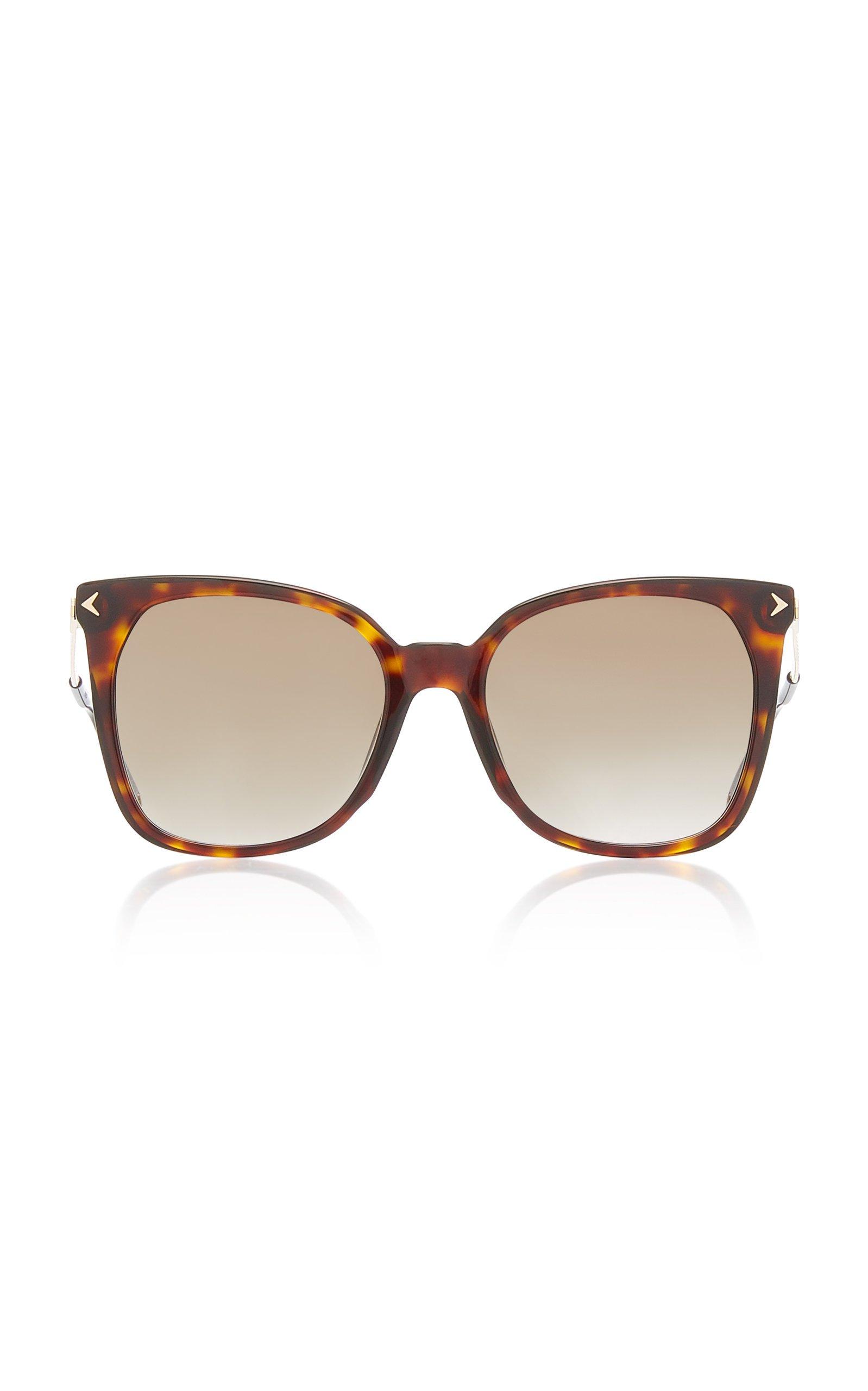 Givenchy Sunglasses Oversized Tortoise Square Sunglasses