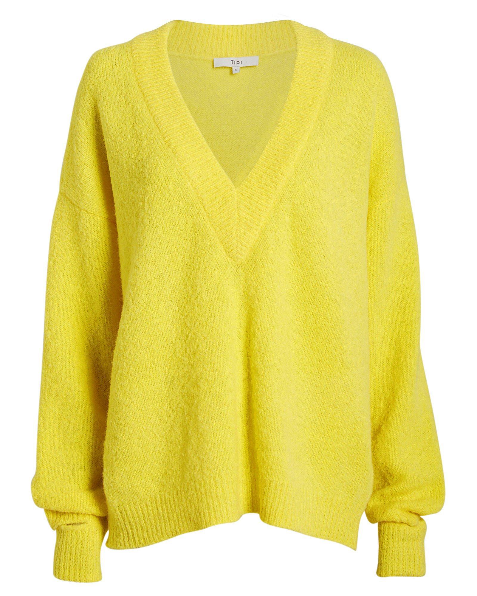 Airy Alpaca V-Neck Sweater