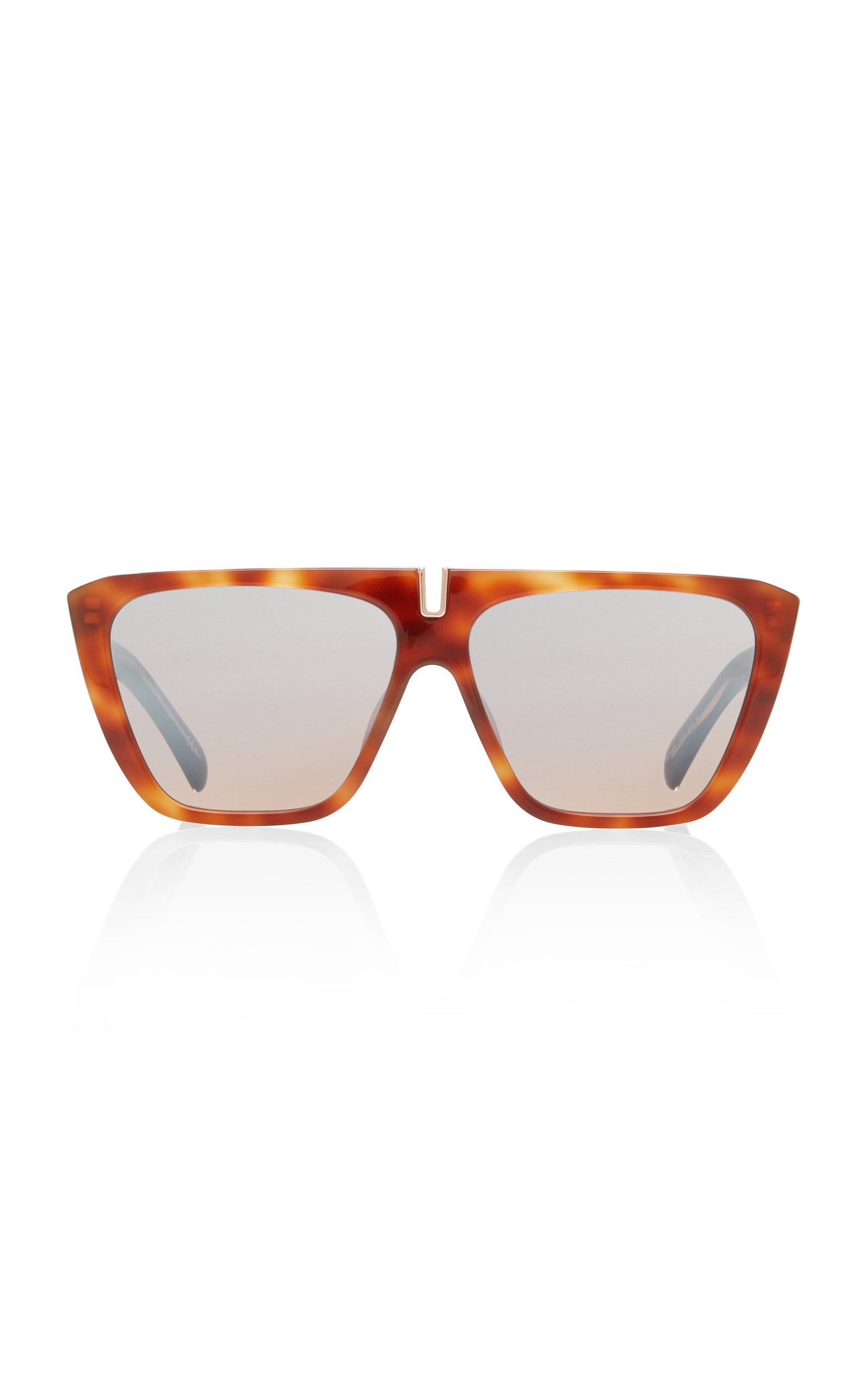 Oversized Acetate Square-Frame Sunglasses by Givenchy | Moda Operandi