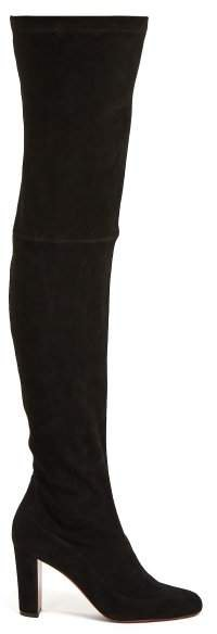 Kiss Me Gina 85 Over The Knee Boots - Womens - Black