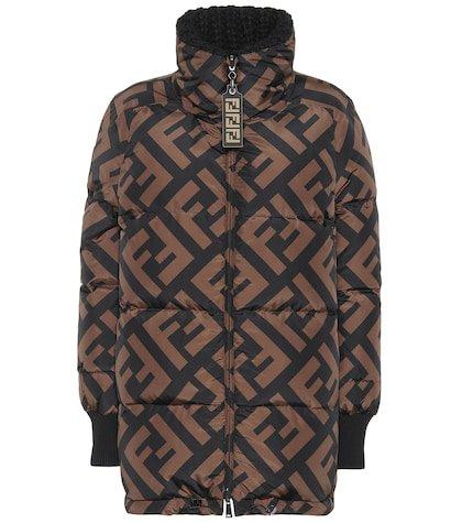 FF reversible down jacket