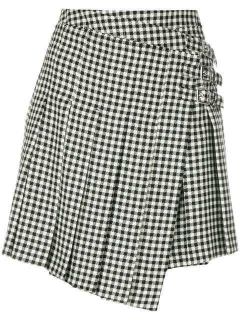McQ Alexander McQueen Wrap Kilt Skirt - Farfetch