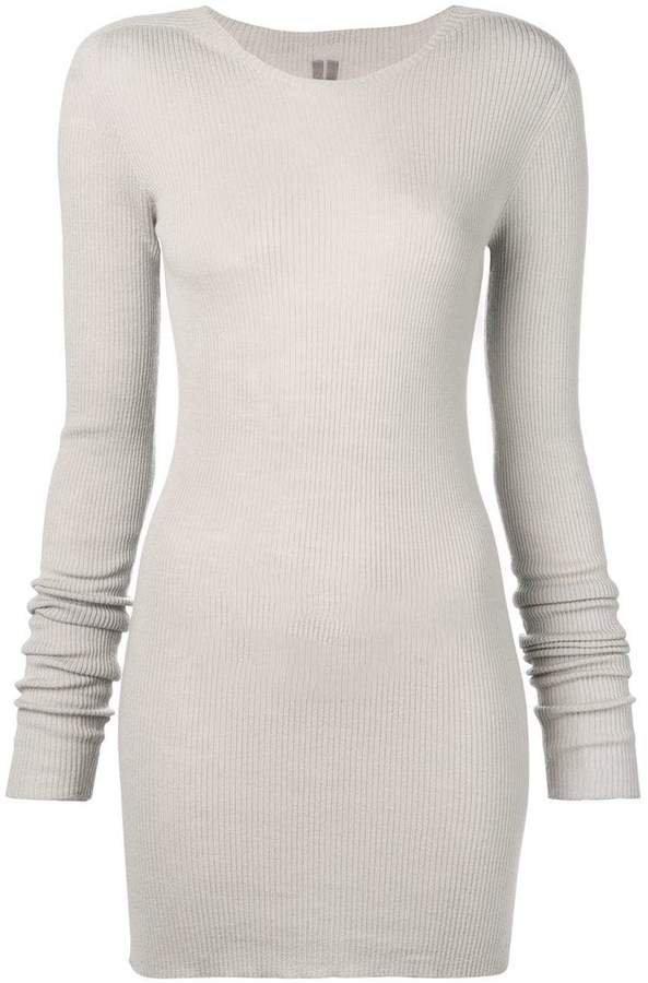 ribbed sweatshirt