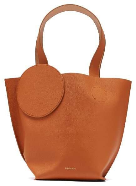 Eider Mini Pebbled Leather Tote - Womens - Tan