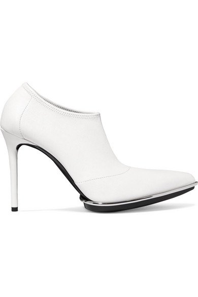Alexander Wang | Cara leather ankle boots | NET-A-PORTER.COM