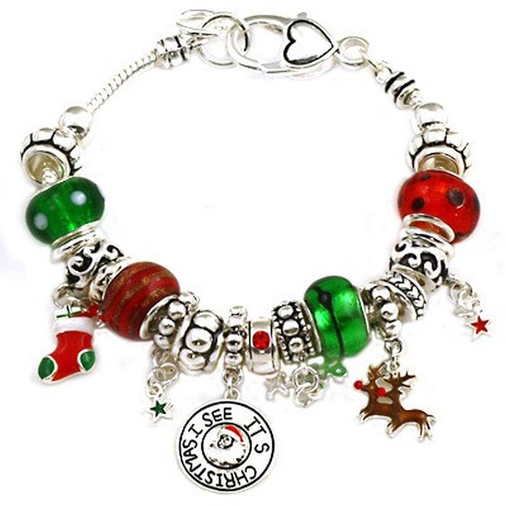 christmas bangle bracelet - Google Search