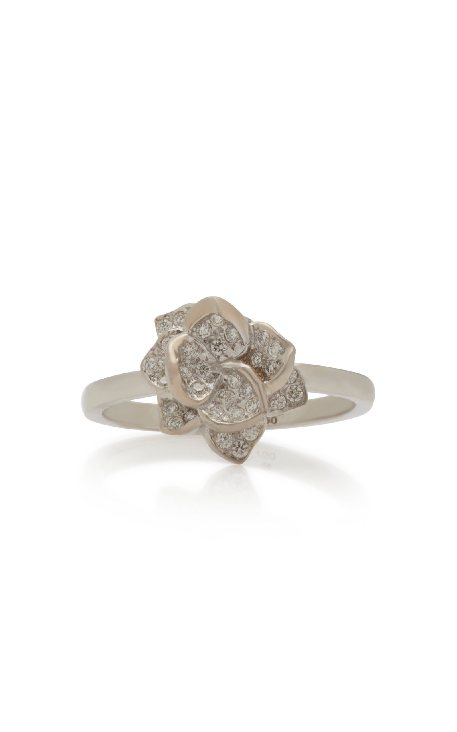Colette Jewelry 18K White Gold Diamond Ring