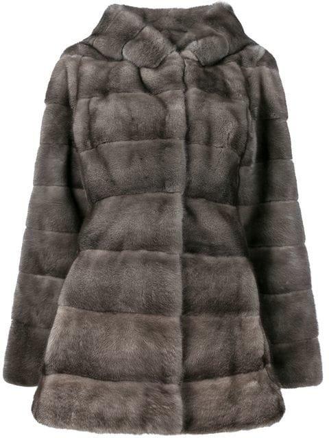 Liska Valencia mink fur coat