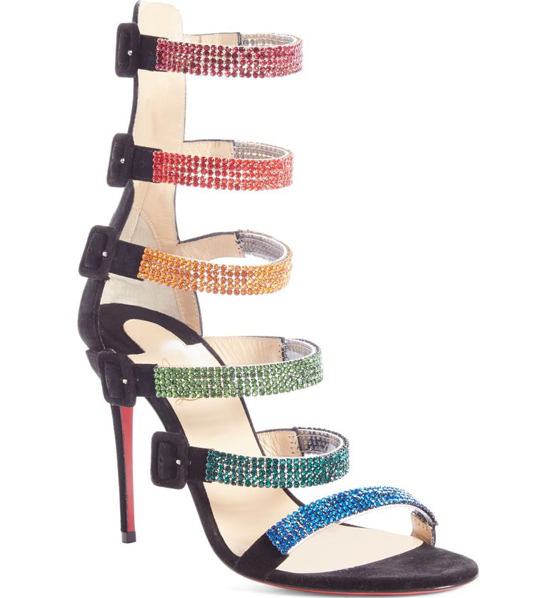 Christian Louboutin Raynibo Cage Sandal (Women) | Nordstrom
