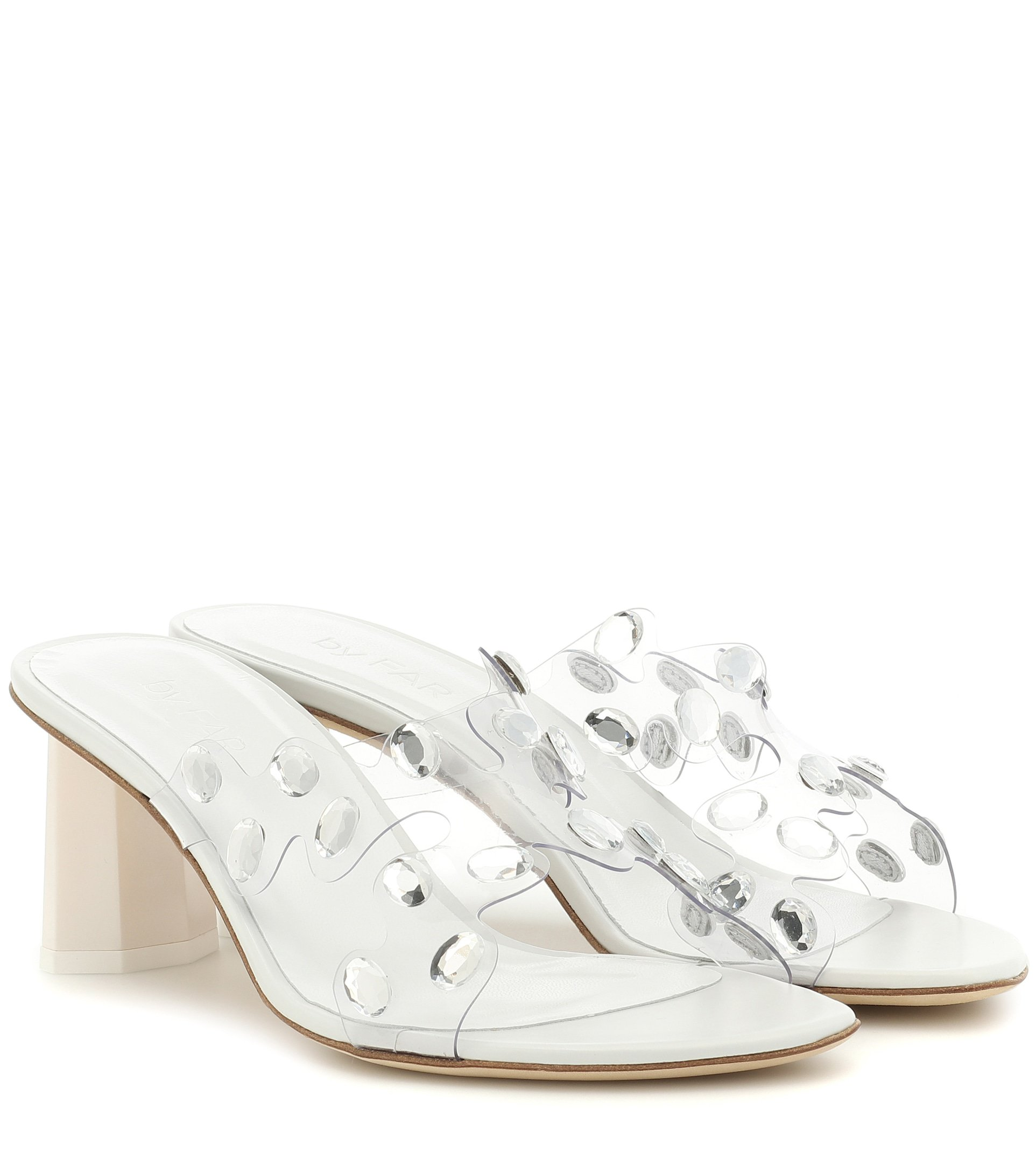 Gorgeous Embellished Pvc Sandals - By Far | Mytheresa
