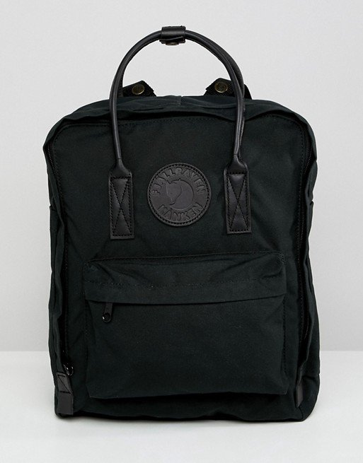 Fjallraven Kanken No.2 16l backpack with leather straps | ASOS