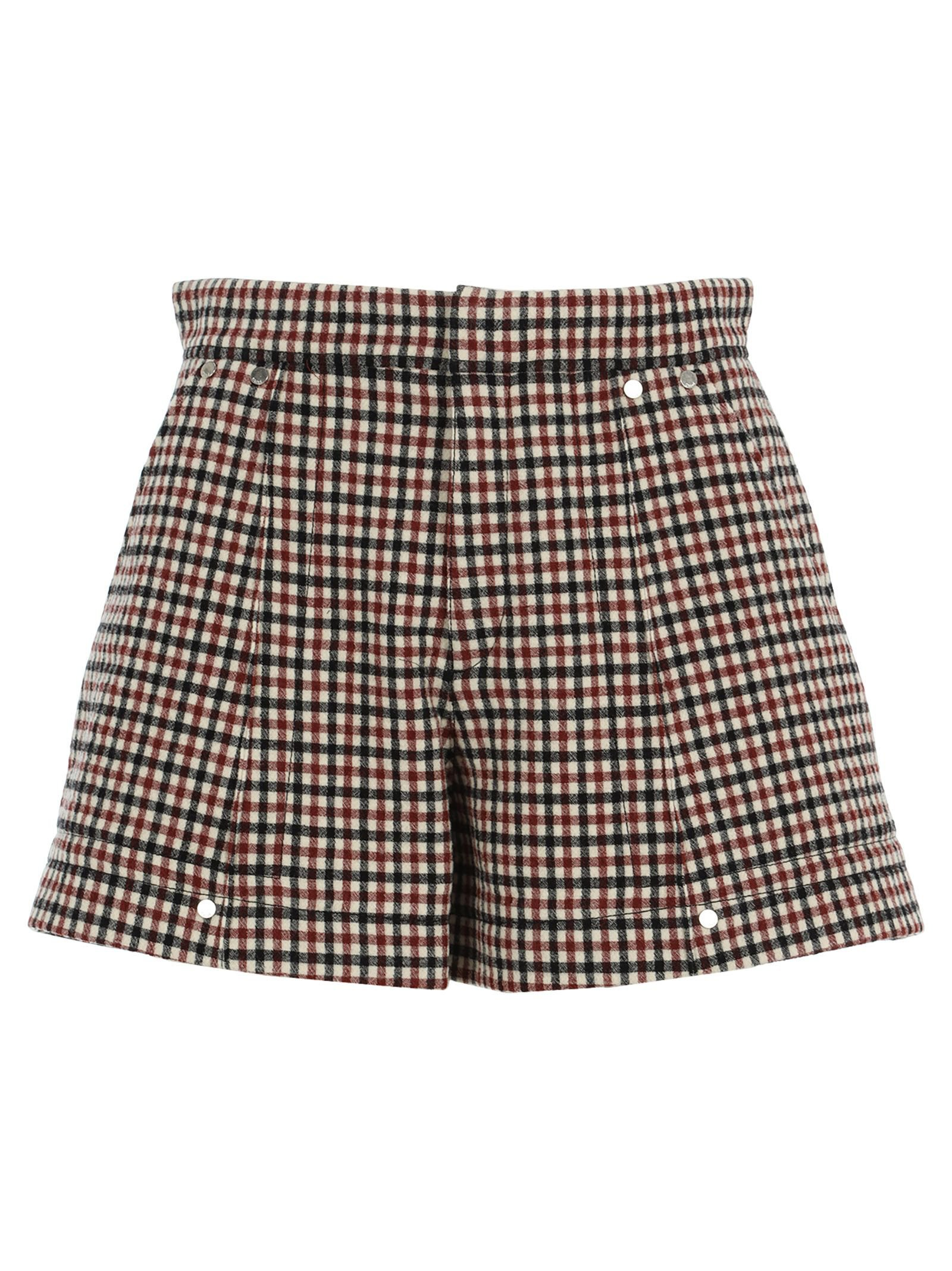 Chloe Check Shorts