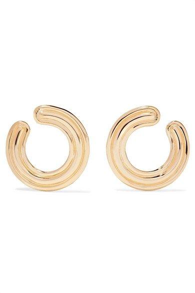 Melissa Kaye   Jen 18-karat gold hoop earrings   NET-A-PORTER.COM