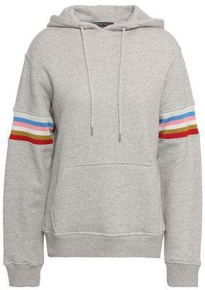 Striped French Cotton-terry Hoodie