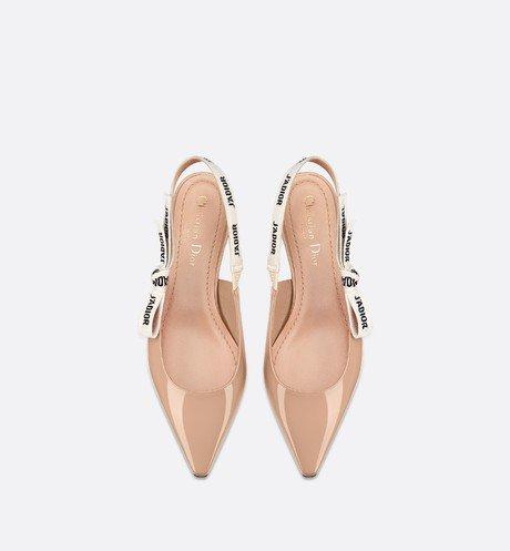 J'Adior patent calfskin ballet pump - Shoes - Woman   DIOR
