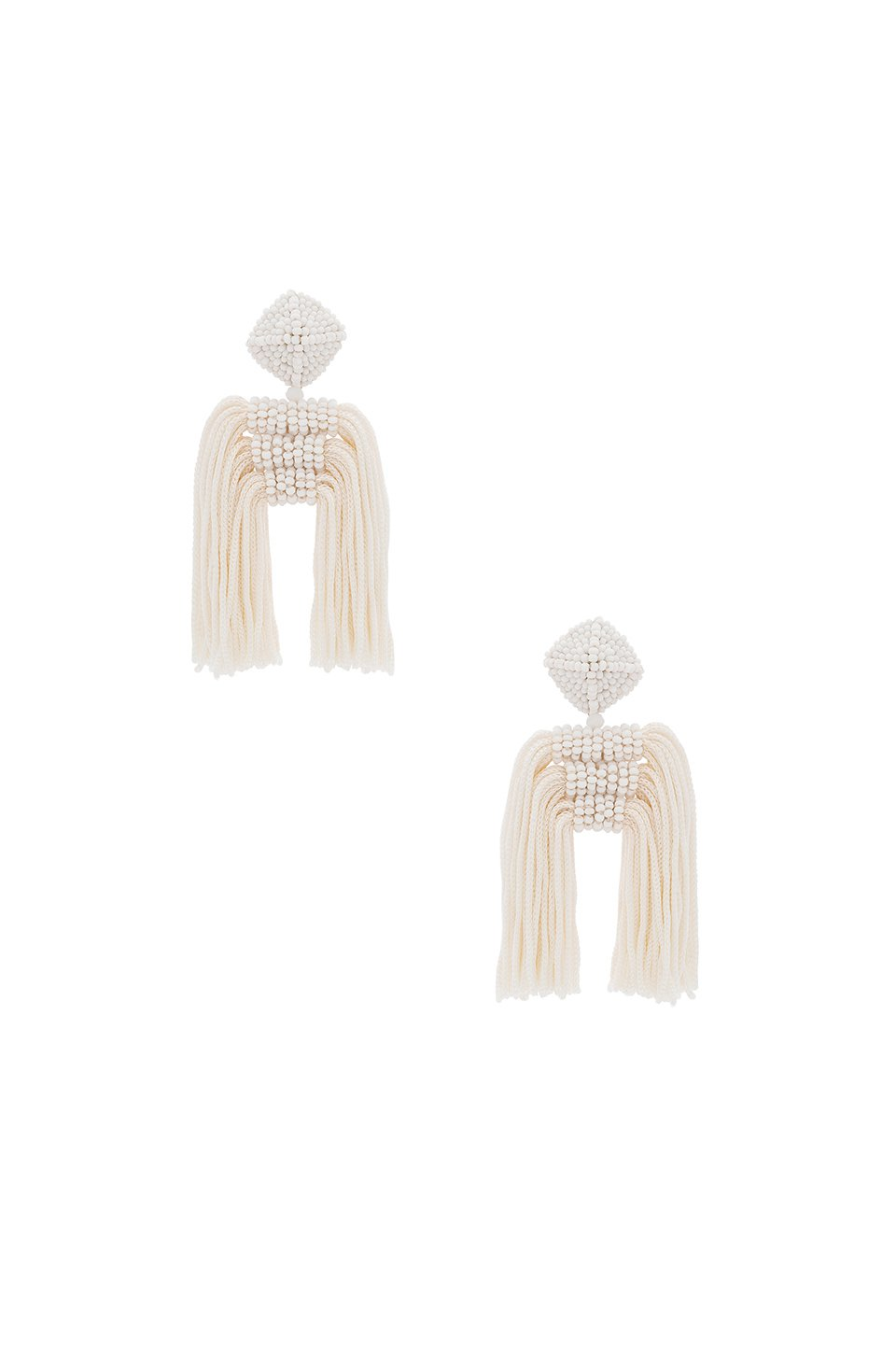 Short Tassel Dupio Earrings