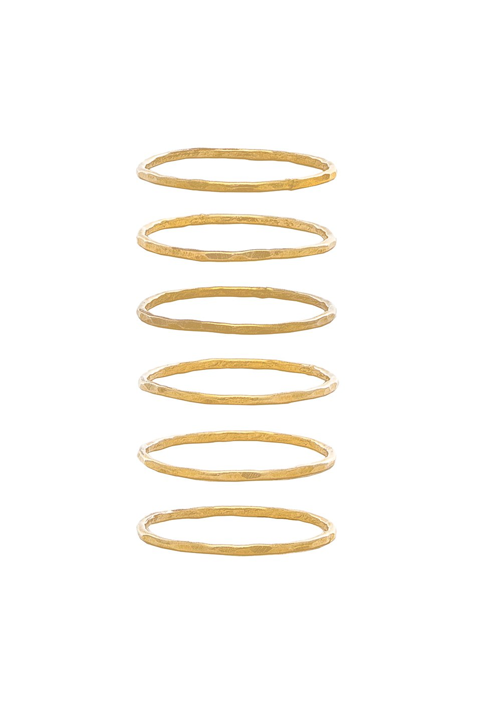 Stackable 6 Ring Set