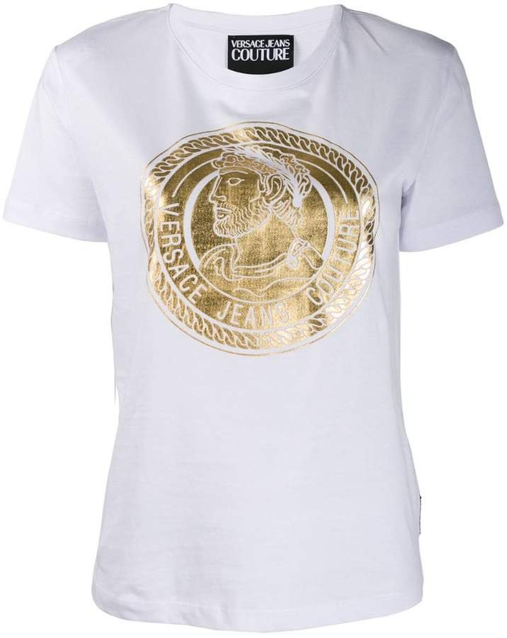coin print T-shirt