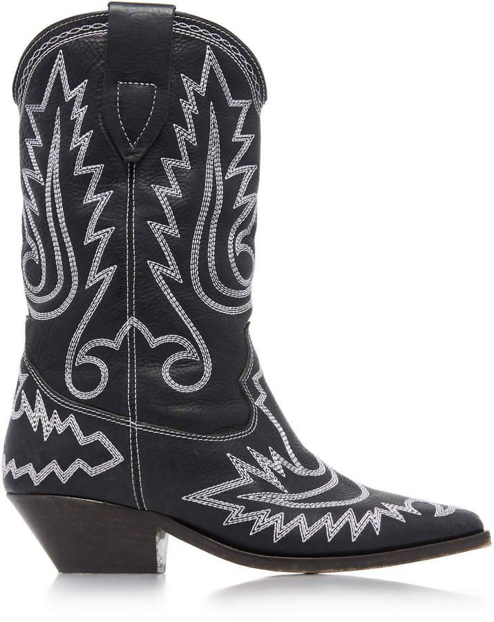 Duerto Leather Cowboy Boots