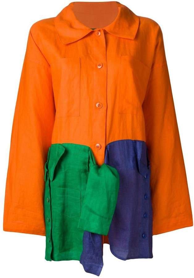 Pre-Owned oversized light coat
