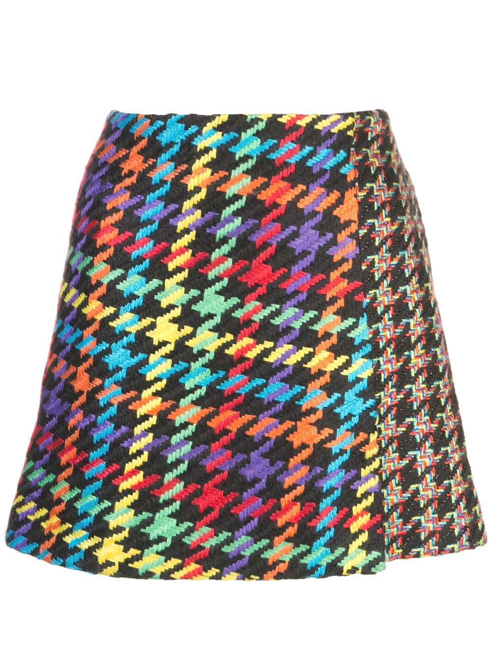 Alice+Olivia Darma Crossover Skirt