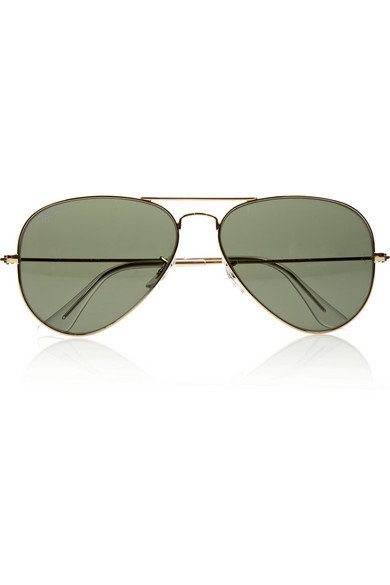 Ray-Ban | Aviator gold-tone sunglasses | NET-A-PORTER.COM