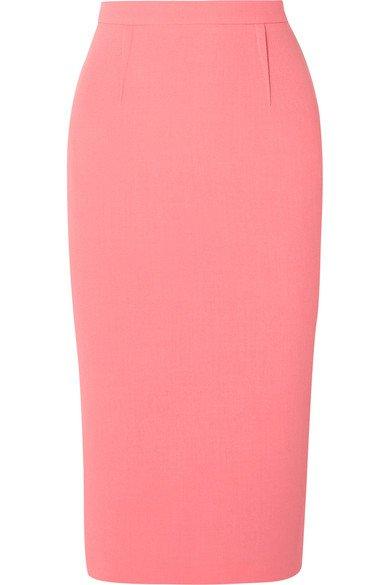 Roland Mouret | Arreton wool-crepe pencil skirt | NET-A-PORTER.COM