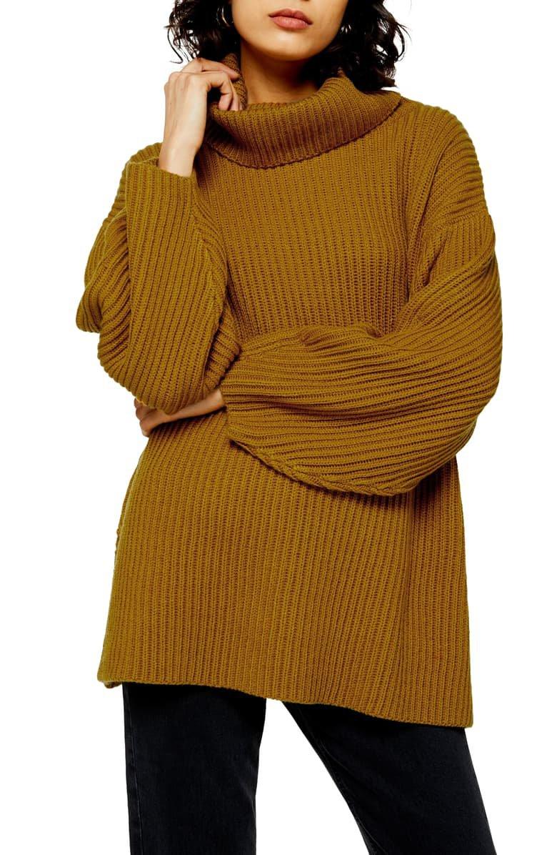 Topshop Turtleneck Sweater | Nordstrom