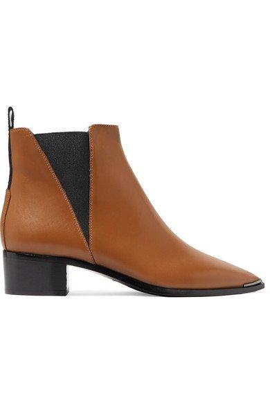 Acne Studios   Jensen leather ankle boots   NET-A-PORTER.COM