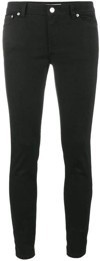 star motif skinny jeans