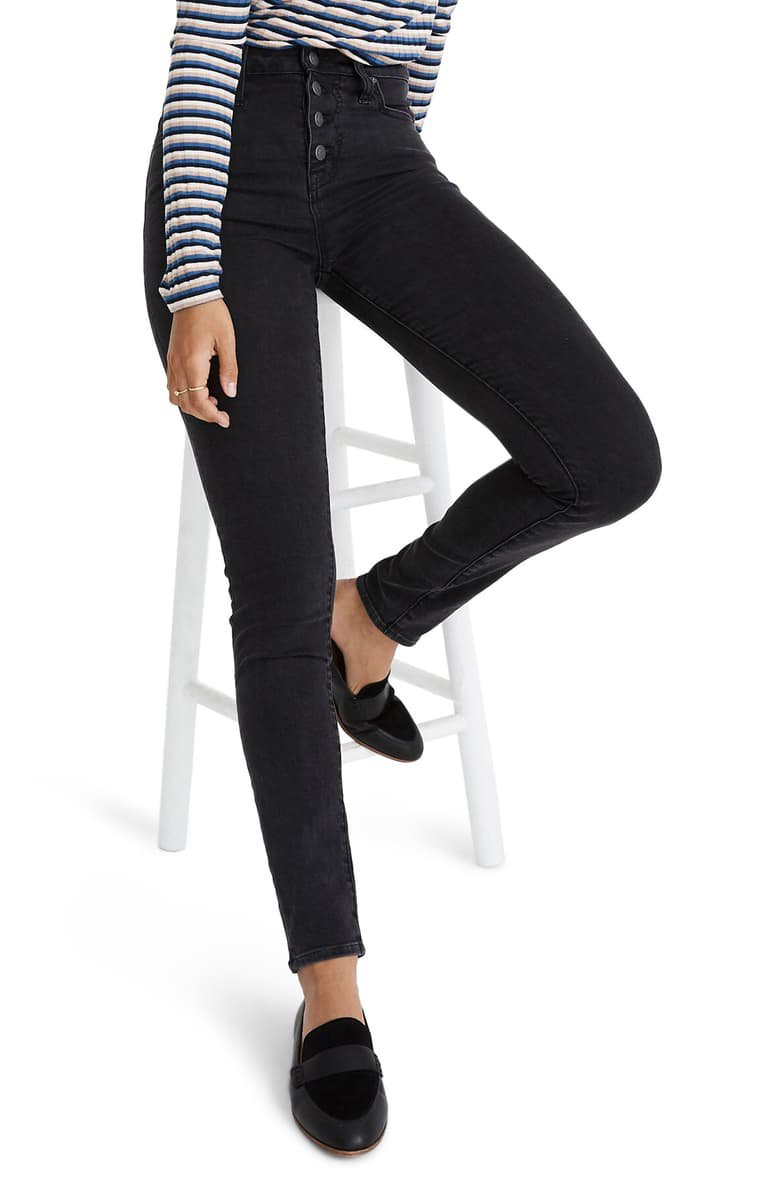 Madewell Curvy High-Rise Skinny Jeans | Nordstrom