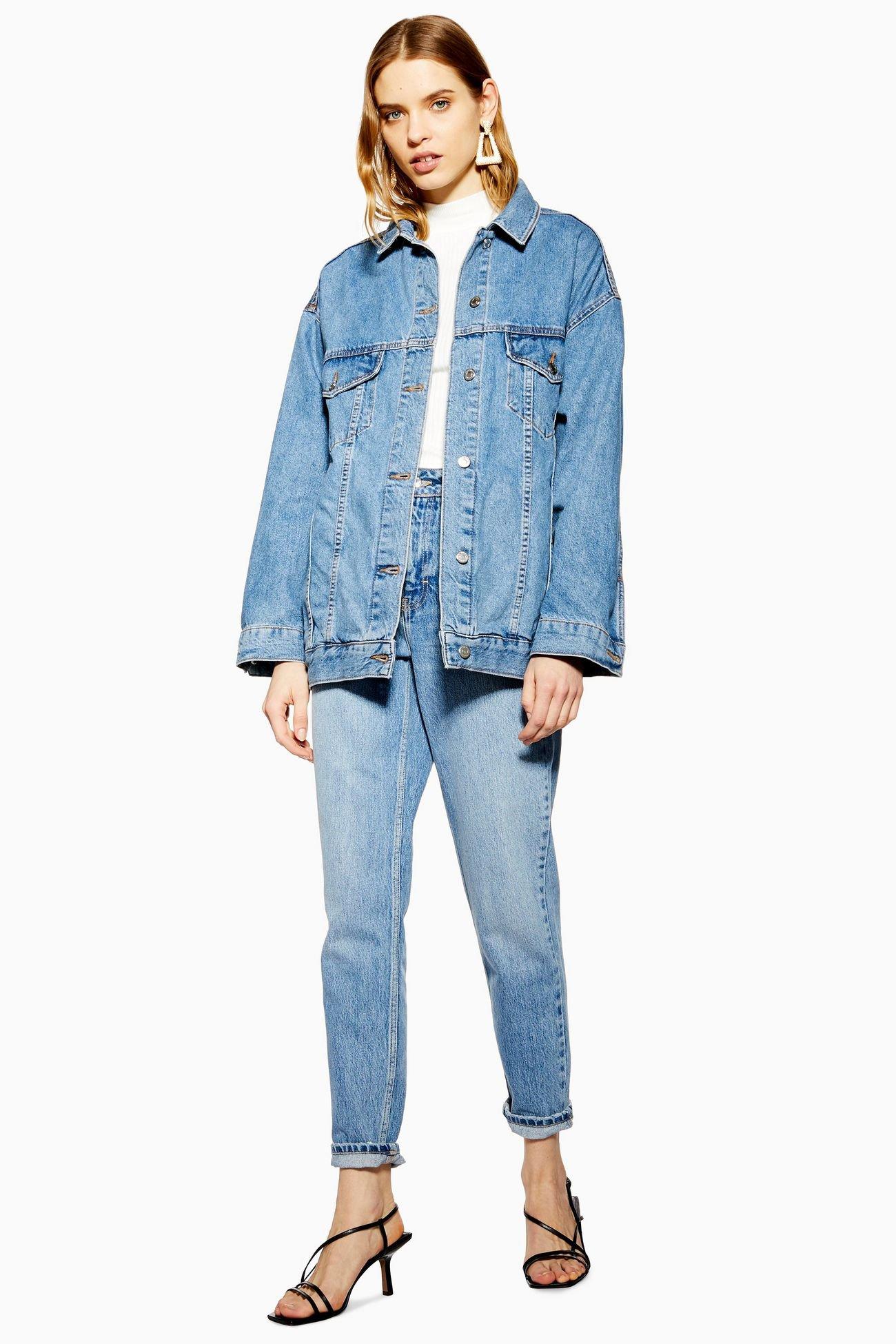 Dad Oversized Denim Jacket | Topshop