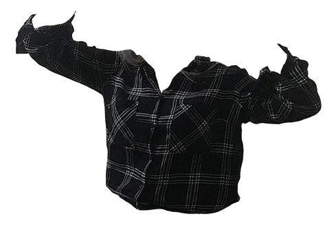 black plaid shirt png mood