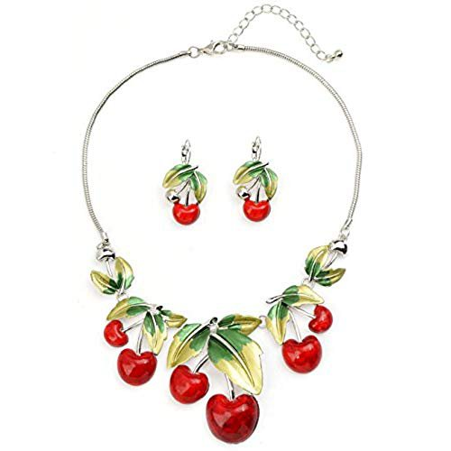 cherry red jewelry - Google Search