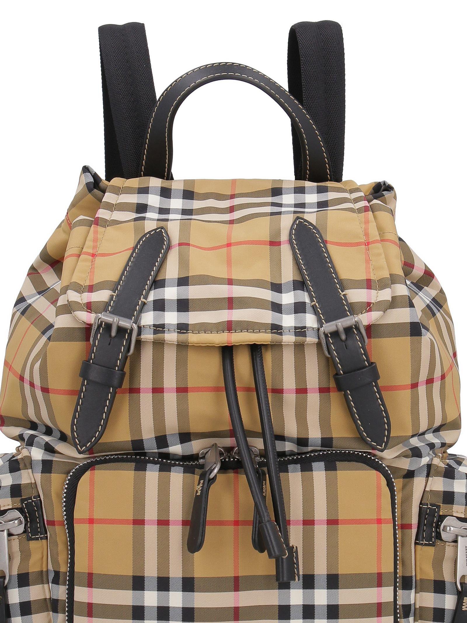 Burberry The Rucksack Medium Nylon Backpack